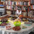 halloween coffee and cake