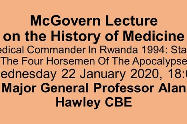 mcgovern lecture