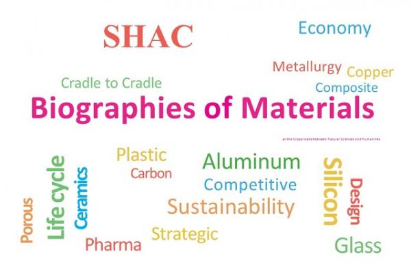 Biographies of Materials Conference poster