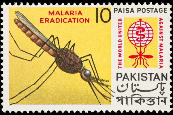 wellcome malaria stamp image