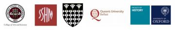 Logos: FSU, SSHM, Magdalen College, QUB, HFUO
