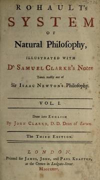 dobre rohaults treatise